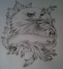 eagle hawk tattoo design by tattoosuzette on deviantart