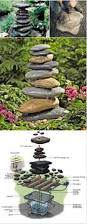 backyard water fountain pumps home outdoor decoration