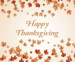 thanksgiving background with leaves vector graphics