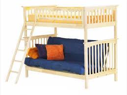 bedroom wooden bunk bed with futon regarding fantasy wood loft and