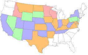 United States Map With Labels by Create Your Visited States Map Gas U2022 Food U2022 No Lodging