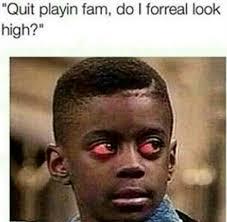 High Kid Meme - busy
