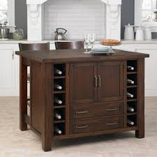 kitchen island overstock cabin creek kitchen island breakfast bar with two stools