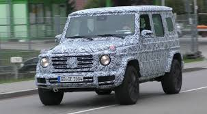 mercedes g wagon green 2018 mercedes g class prototype spied on the road sounds like a