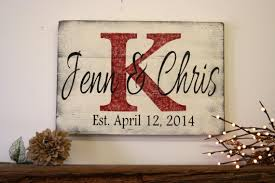 wedding gift name sign personalized name sign custom name sign wedding gift idealpin