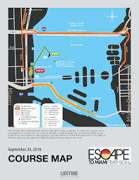 Miami Design District Map by Course