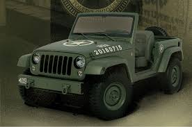 jeep army star watch the one off jeep wrangler 75th salute get built in seconds