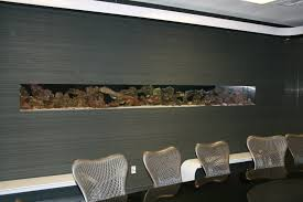 Wall Aquarium by Aquarium Maintenance Las Vegas Infinity Aquarium