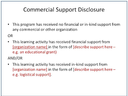guideline g disclosure