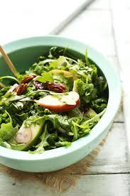 green salad for thanksgiving apple pecan arugula salad minimalist baker recipes