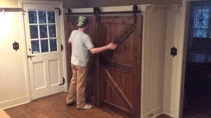 Rona Doors Exterior Exterior Sliding Barn Door Track System Peytonmeyer Net