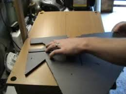 wire foam cutter table simple homemade diy wire cutter or router table youtube