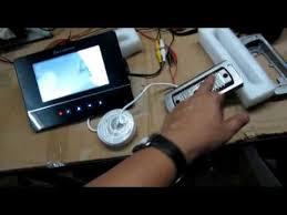 how to install video door phone youtube