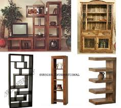 Discount Solid Wood Bookcases Solid Wood Furniture Wooden Bookcase Manufacturers Exporters India