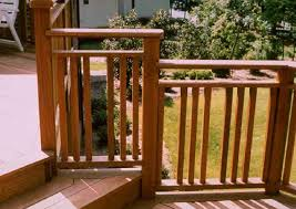 Patio Railing Designs Wooden Patio Railings Photos Home Decorations Insight