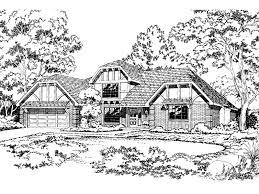 percheron tudor home plan 038d 0178 house plans and more