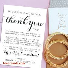 diy wedding menu cards diy wedding menu cards wedding thank you cards wel e letter