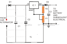 wiring diagram for car alternator carlplant