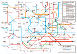 Map Of Boston College National Rail London Councils