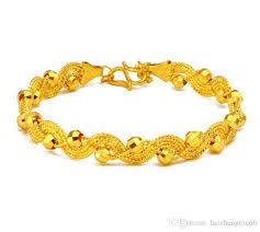 gold bangle bracelet design images New design 999 24k yellow gold bracelet best women 39 s elegant jpg