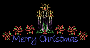 lighted outdoor merry sign lights card and