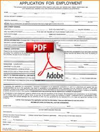 8 application form job form pdf basic job appication letter