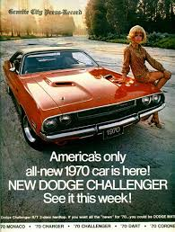 Dodge Challenger Old - cool old pack advertisement page 3 dodge challenger forum