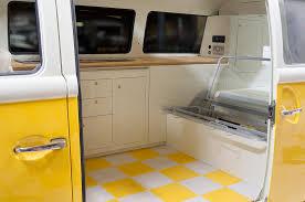 white volkswagen inside t2 bay window interior in vw pastel white u0026 oak dubteriors