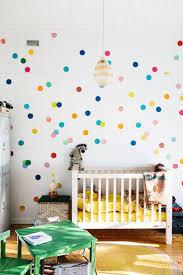 Gender Neutral Nursery Decor Room Gender Neutral Nursery With Polkadot Wall 19 Gender