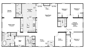 homes floor plans the floor plan for the evolution model home by palm harbor