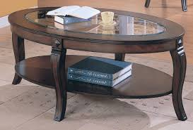 Oval Accent Table Antique Oval Coffee Table With Glass Top Elegant U2013 Oval Glass
