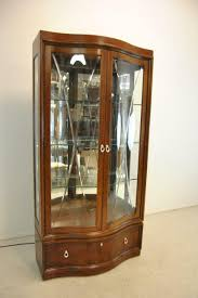 thomasville glass kitchen cabinets thomasville mahogany bogart collection curio china display cabinet bel air