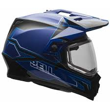 bell helmets motocross bell mx 9 adventure snow helmet with electric shield full face
