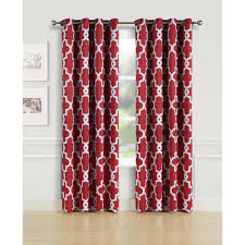 Better Homes Shower Curtains by Better Homes And Gardens Quatrefoil Room Darkening Panel Walmart Com