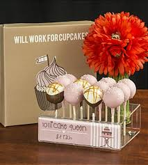 cake pop stands acrylic cake pop stand holds up to 12 skewers
