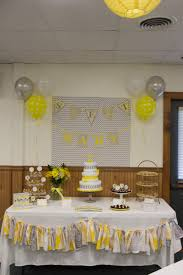 yellow and gray baby shower decorations gray and yellow baby shower theme the masalins