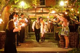 wedding send ideas nashville wedding cellar one outdoor sparkler send evening