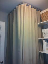 Ceiling Curtain Rods Ideas Best 25 Shower Curtain Rods Ideas On Pinterest Curtains Oval
