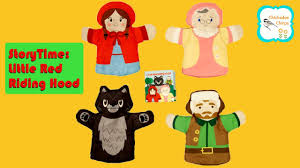 The Woodsman Company Little Red Riding Hood Puppet Storytime The Manhattan Toy Company