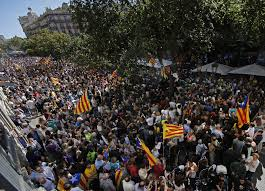 barcelona caught in storm over catalonia u0027s independence vote the