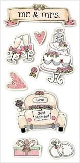 wedding scrapbook stickers forever in time 3d handmade glitter stickers mr mrs wedding