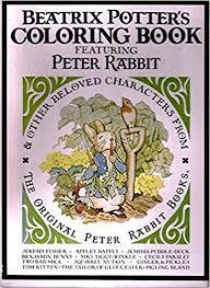 beatrix potter u0027s coloring book featuring peter rabbit u0026