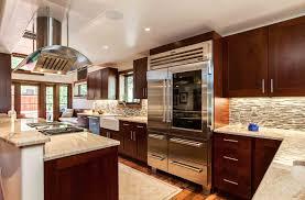 transitional cherry kitchen in cherry creek jm kitchen and bath
