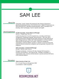 Hr Manager Resume Examples by New Resume Format Sample New Resume Format Example Resume Format