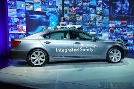 drivers way lexus lexus u0027s u0027advanced active safety research vehicle u0027 can drive itself