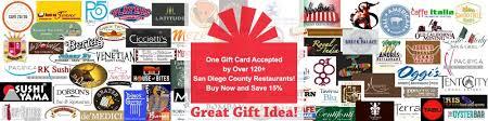 restaurant gift card gift cards san diego restaurants discount gift card