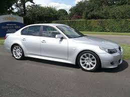bmw 5 series 530d m sport for sale used bmw 5 series 2007 diesel 530d m sport saloon silver automatic