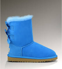 ugg womens bow boots ugg womens bailey bow 3280 boots blue 134 ugg