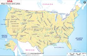 america map of rivers us and canada map rivers america rivers and lakes thempfa org