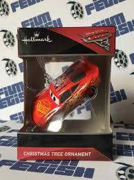 disney pixar cars 3 tree ornament by hallmark crush